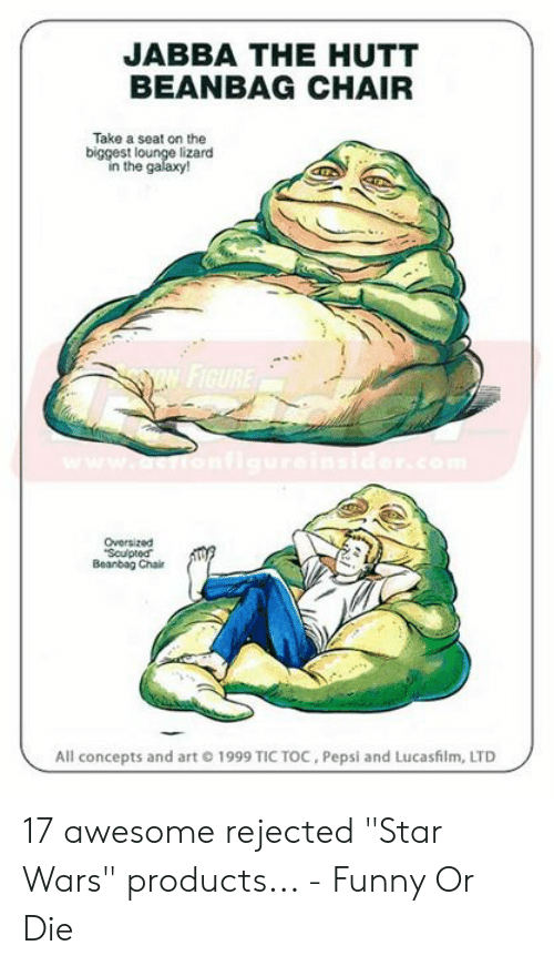 Groovy Jabba The Hutt Beanbag Chair Take A Seat On The Biggest Andrewgaddart Wooden Chair Designs For Living Room Andrewgaddartcom