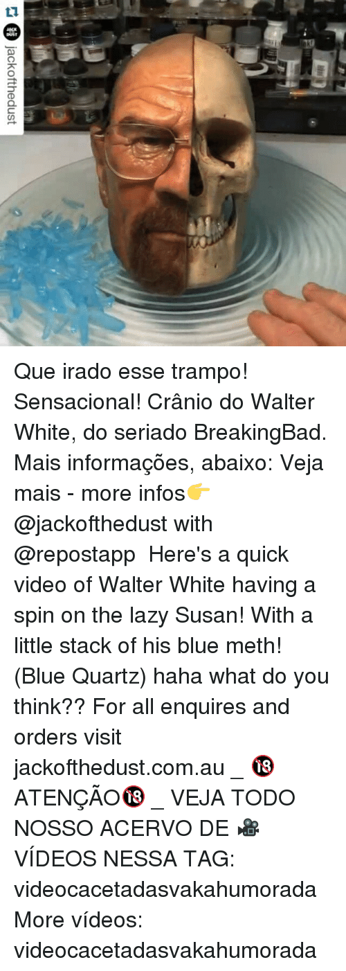 25 best walter white memes walter memes out of control memes lazy videos and walter white jackofthedust que irado esse trampo sensacional urtaz Gallery