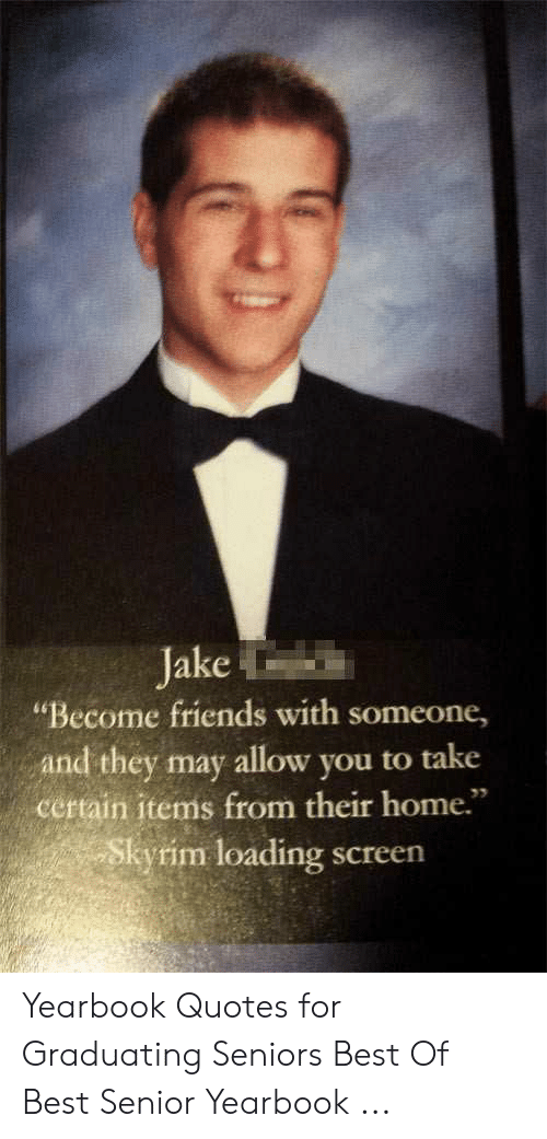 jake becofriends someone and they allow you to take