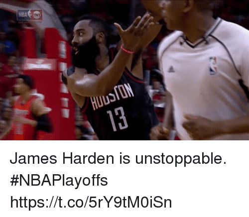 Sizzle: James Harden is unstoppable. #NBAPlayoffs https://t.co/5rY9tM0iSn