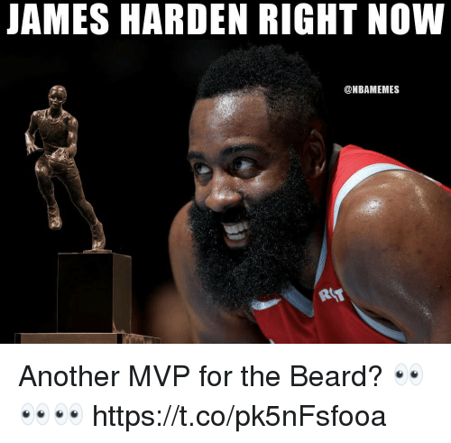 f63162ca101 JAMES HARDEN RIGHT NOW Another MVP for the Beard ...