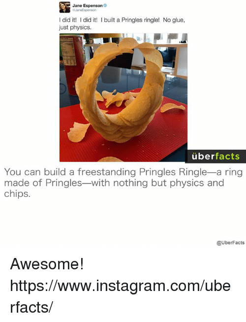 jane espenson o objaneespenson did it did it l built 5535576 ✅ 25 best memes about pringles pringles memes,Pringles Meme