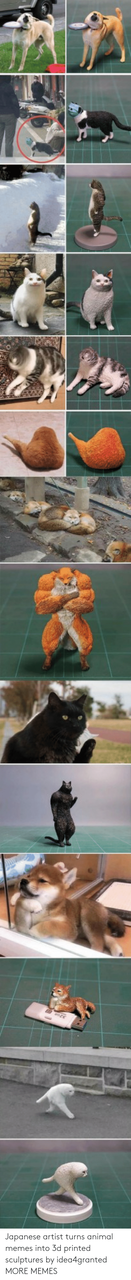 Dank, Memes, and Target: Japanese artist turns animal memes into 3d printed sculptures by idea4granted MORE MEMES