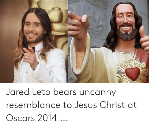 Jesus, Oscars, and Bears: Jared Leto bears uncanny resemblance to Jesus Christ at Oscars 2014 ...