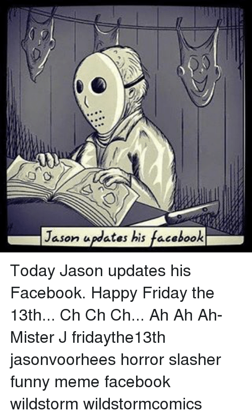 Jason Updates Facebook Today Jason Updates His Facebook