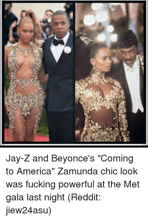 jay z and beyonces coming to america zamunda chic look was 18028776 ✅ 25 best memes about met gala met gala memes