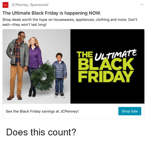 43baa7aea7 JCPenney Sponsored the Ultimate Black Friday Is Happening NOW Shop ...