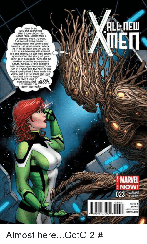 Life, Memes, and Earth: Jean Grey, you are everyt human race.
