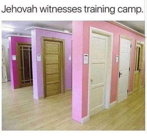Camp, Jehovah, and Training: Jehovah witnesses training camp.