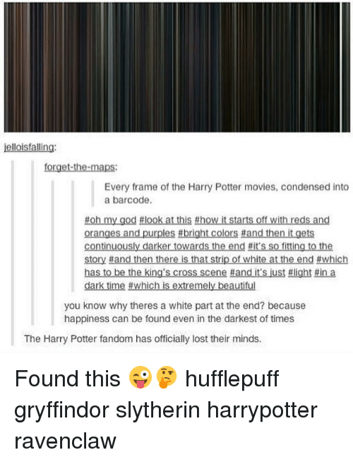 Jellois Falling Forget-The-Maps Every Frame of the Harry Potter ...