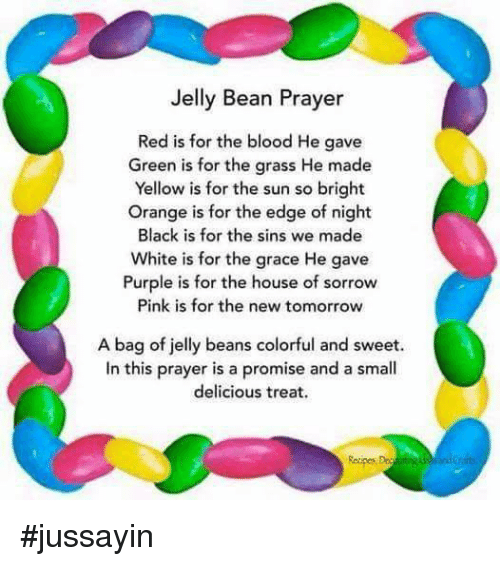 photograph regarding Jelly Bean Prayer Printable known as Jelly Bean Prayer Purple Is for the Blood He Gave Inexperienced Is for