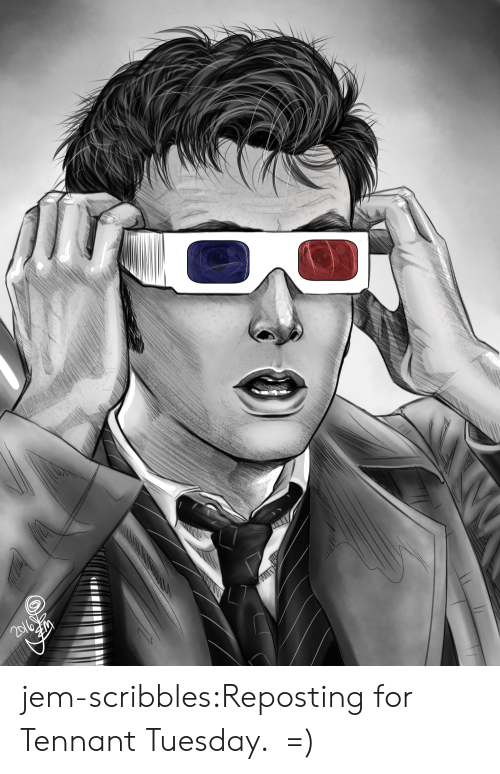 Tumblr, Blog, and Jem: jem-scribbles:Reposting for Tennant Tuesday.  =)