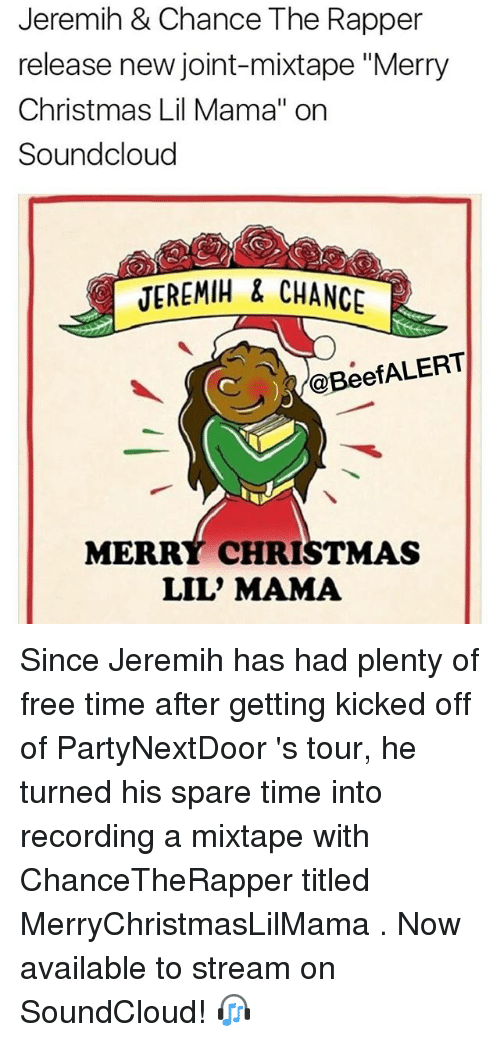 Jeremih & Chance the Rapper Release New Joint-Mixtape Merry