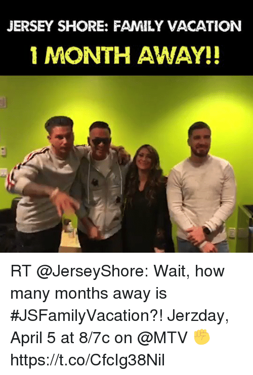 Home Market Barrel Room Trophy Room ◀ Share Related ▶ family memes MTV Vacation April Jersey Shore 🤖 how jersey months wait away next RT @JerseyShore: Wait, how many months away is #JSFamilyVacation?! Jerzday, April 5 at 8/7c on @MTV ✊ https://t.co/CfcIg38Nil collect meme → Embed it next → JERSEY SHORE FAMILY VACATION 1 MONTH AWAY!! RT @JerseyShore Wait how many months away is #JSFamilyVacation?! Jerzday April 5 at 87c on @MTV ✊ httpstcoCfcIg38Nil Meme family memes MTV Vacation April Jersey Shore 🤖 how jersey months wait away month jerseyshore Family Vacation Many Https How Many family family memes memes MTV MTV Vacation Vacation April April Jersey Shore Jersey Shore 🤖 🤖 how how jersey jersey months months wait wait away away month month jerseyshore jerseyshore Family Vacation Family Vacation Many Many Https Https How Many How Many found ON 2018-03-06 00:14:47 BY me.me source: twitter view more on me.me