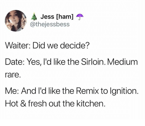 Dating remix to ignition