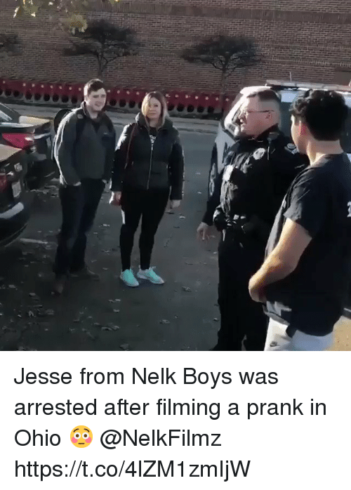 Jesse From Nelk Boys Was Arrested After Filming a Prank in Ohio