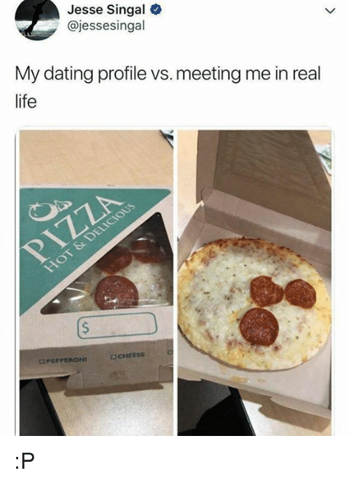 Food dating profile