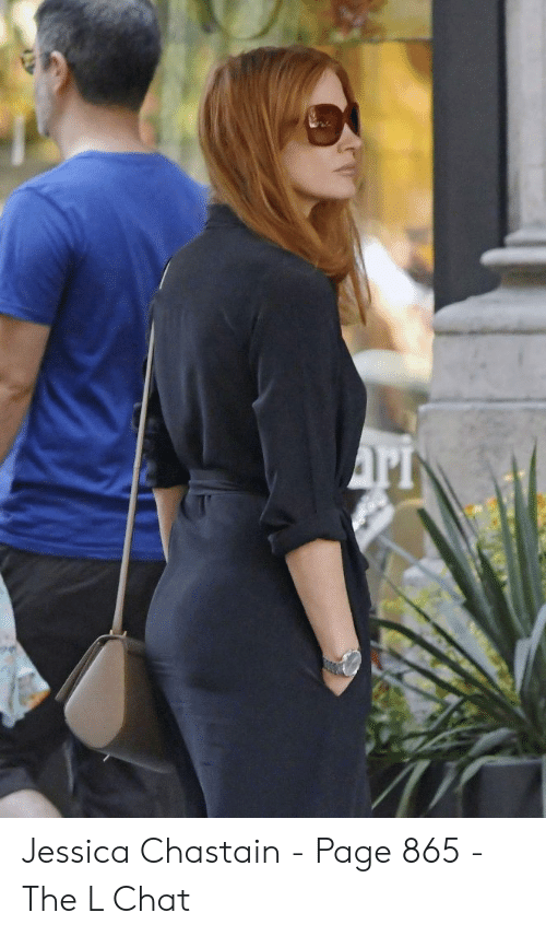 Jessica Chastain Ass
