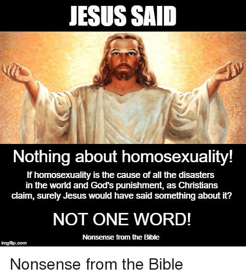 Christian teachings against homosexuality