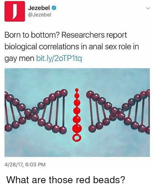 What is role of bottom sex