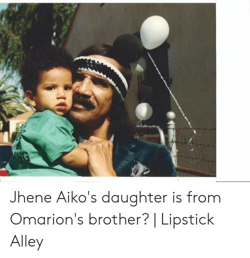 Jhene Aiko's Daughter Is From Omarion's Brother?   Lipstick