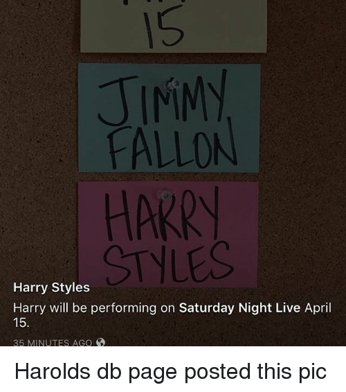 2f5eb2e12d016 JIMMY FALLON HARRY STYLES Harry Styles Harry Will Be Performing on ...
