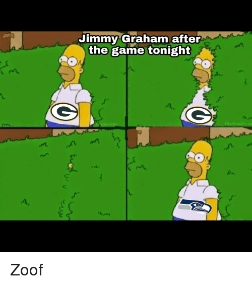 Jimmy Graham After the Game Tonight 2 | NFL Meme on ME ME