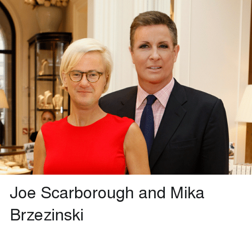 Mika, Joe, and Joe Scarborough