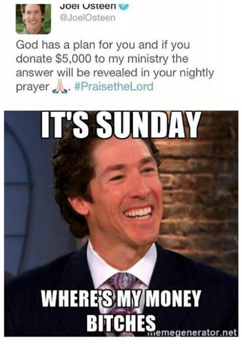 North Carolina Pastor To Joel Osteen Youve Had The Week That Was