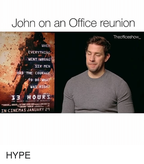 John On An Office Reunion Digital Theofficeshow When Everything Uent