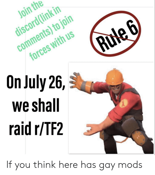 Join the Discordlink in Comments to Join Forces With Us Rule 6 on