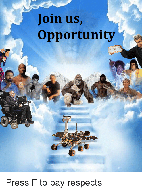 Opportunity, Dank Memes, and Press: Join us,  Opportunity