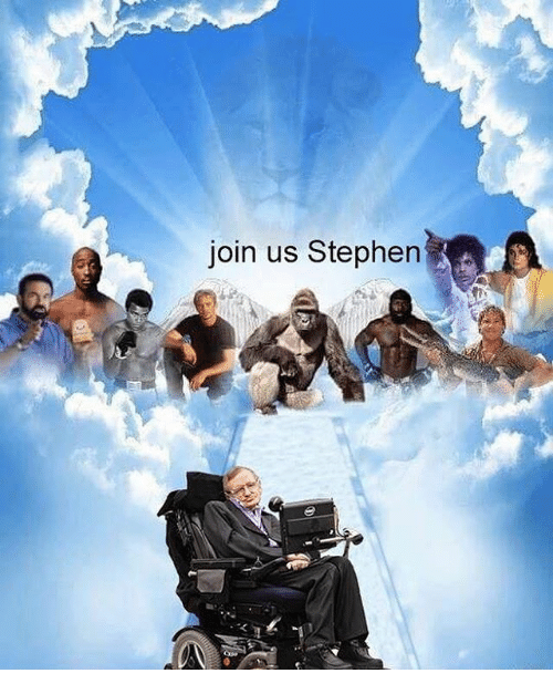 Stephen, Dank Memes, and Join Us: join us Stephen
