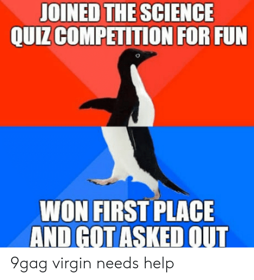 JOINED THE SCIENCE QUIZ COMPETITION FOR FUN WON FIRST PLACE