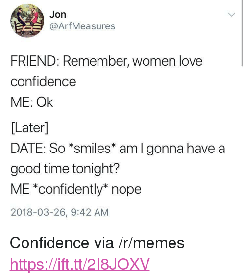 women like confidence