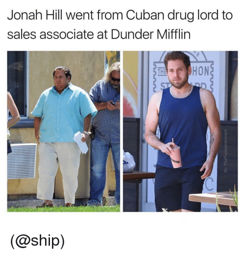 Jonah Hill Went From Cuban Drug Lord To Sales Associate At Dunder