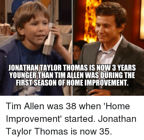Image result for jonathan taylor thomas meme
