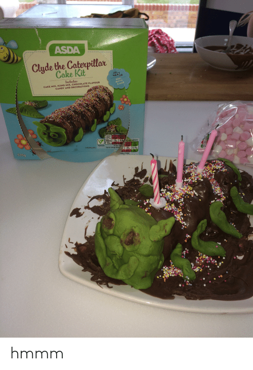 Jor Icin7 Mix Asda Clyde The Caterpillar Cake Kit Ju D Egg