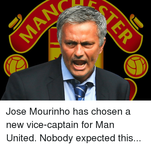Jose Mourinho Has Chosen a New Vice-Captain for Man United ...