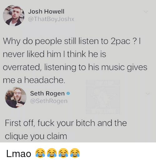 Cannot Pac i fucked your bitch magnificent