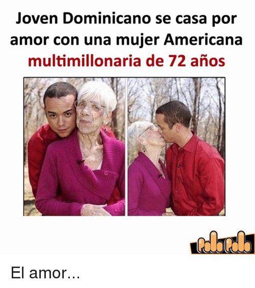 joven dominicano se casa por amor con una mujer americana multimillonaria de 72 anos el amor. Black Bedroom Furniture Sets. Home Design Ideas