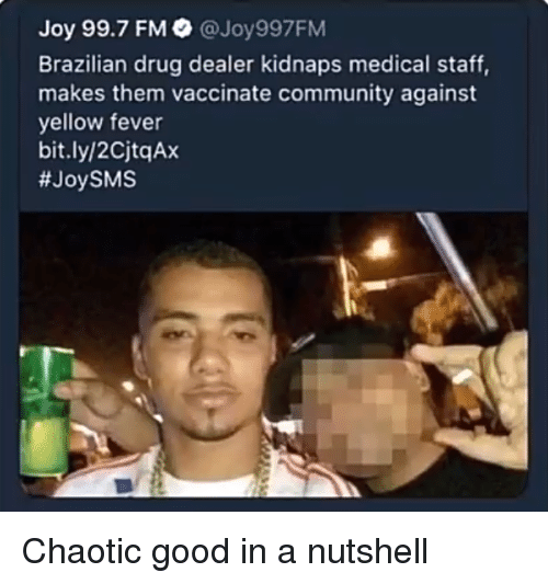 Joy 997 FM Brazilian Drug Dealer Kidnaps Medical Staff Makes Them