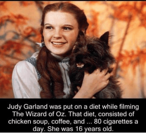 judy garland was put on a diet while filming the 6620440 ✅ 25 best memes about wizard of oz wizard of oz memes