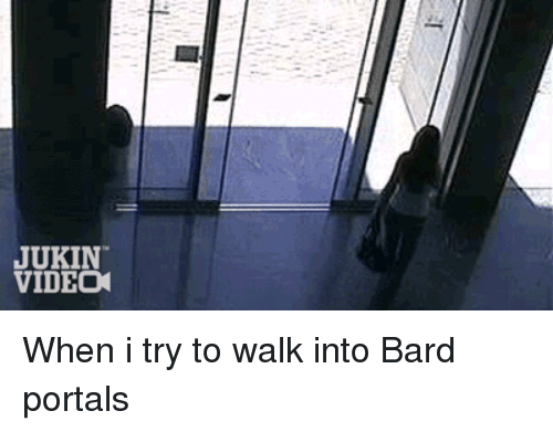 Jukin Video When I Try To Walk Into Bard Portals League Of Legends