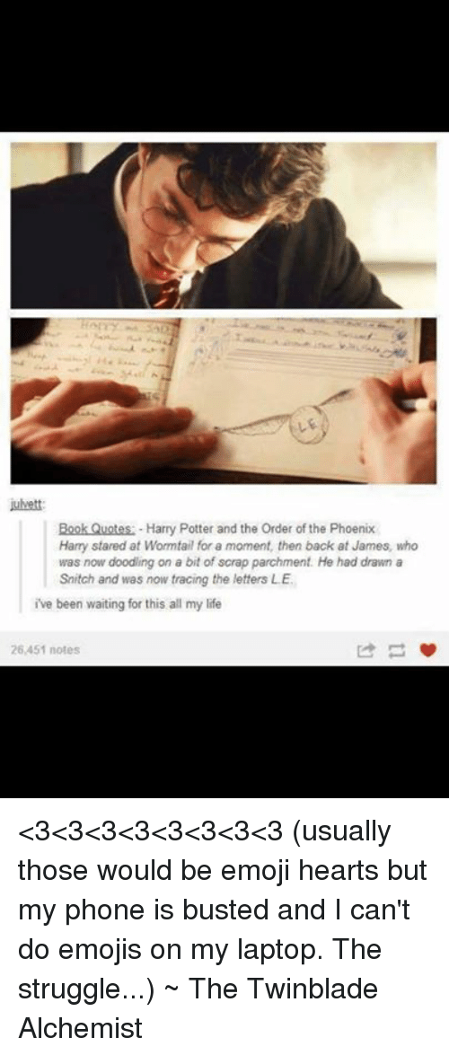 Julvett Book Quotes Harry Potter And The Order Of The Phoenix Harry