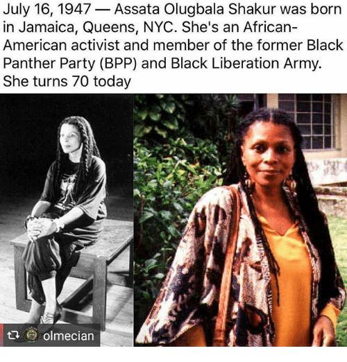 Assata Shakur: 25+ Best Memes About Black Panther Party