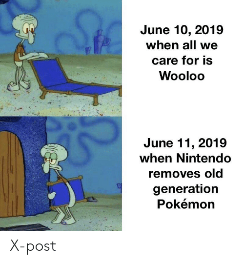 June 10 2019 When All We Care for Is Wooloo June 11 2019
