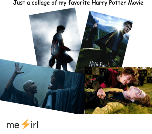 Harry Potter, Collage, and Movie: Just a collage of my favorite Harry Potter Movie  Hari-  nt