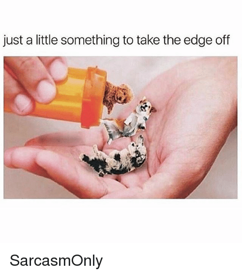 Funny, Memes, and Edge: just a little something to take the edge off SarcasmOnly