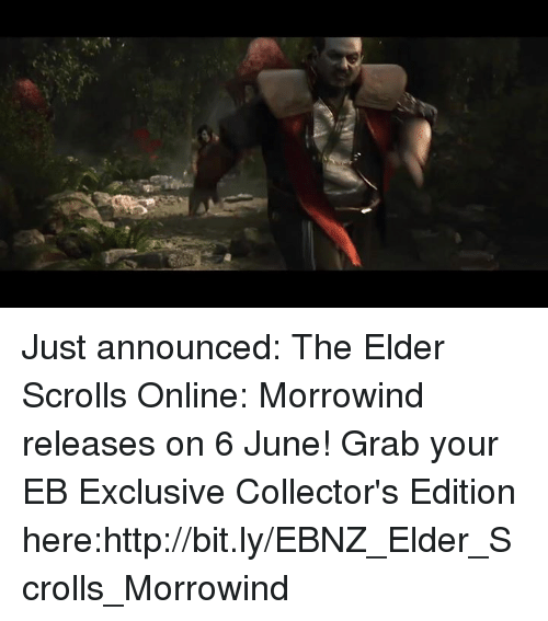 just announced the elder scrolls online morrowind releases on 6 13592348 just announced the elder scrolls online morrowind releases on 6 june